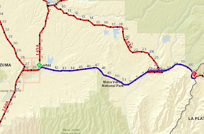 US 160 Through Mancos
