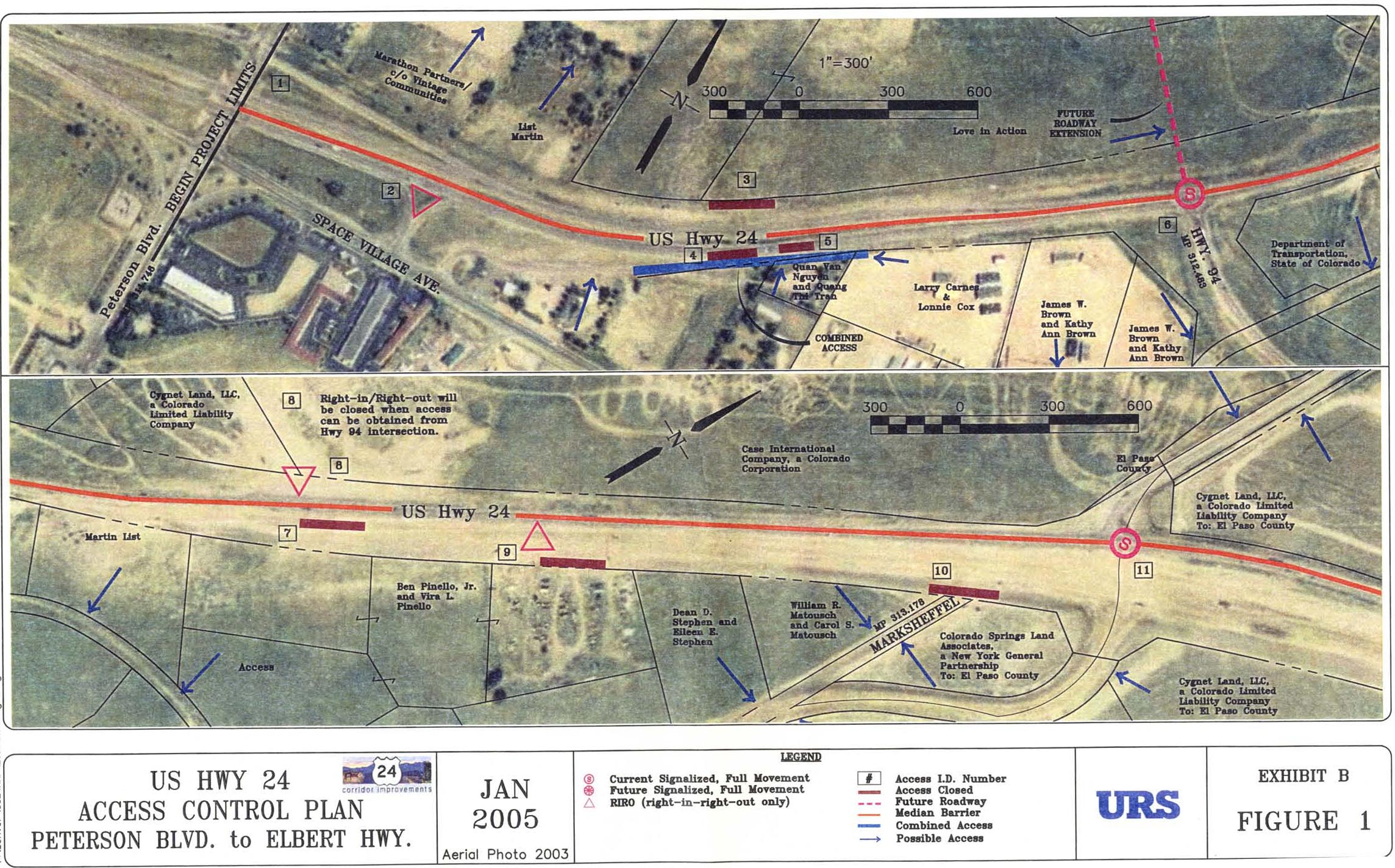 US 24 Access Control Plan 2005