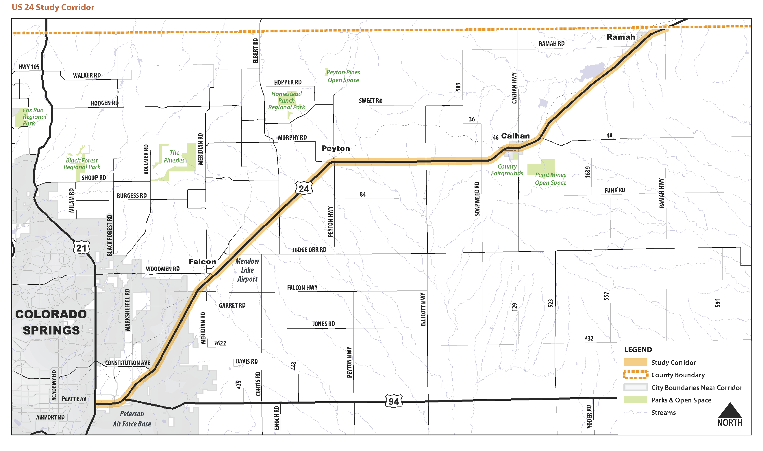 US 24 Study Corridor: May 17, 2016