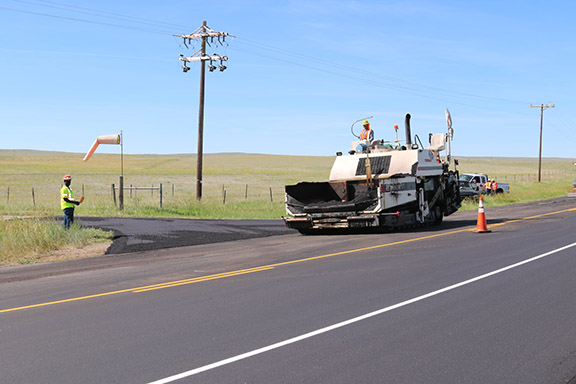 US 24 Paving Approach