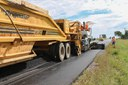 Placement of Bottom Lift Hot Mix Asphalt US 24 El Paso-Elbert County Line East Phase 2