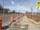 Closure of boring pit,  trenching at intersections and new caisson pour 2.JPG