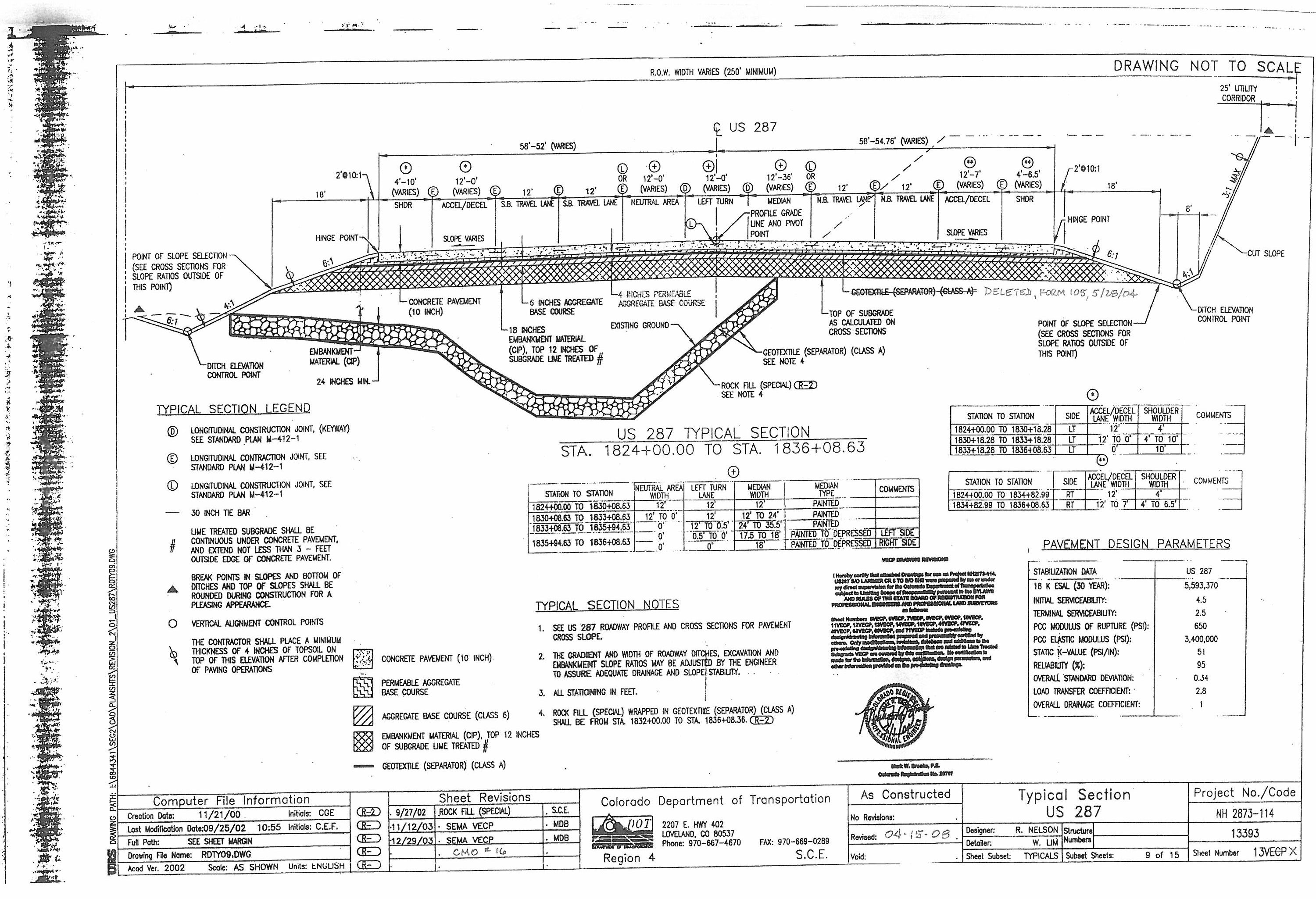 Image of As Constructed Plan