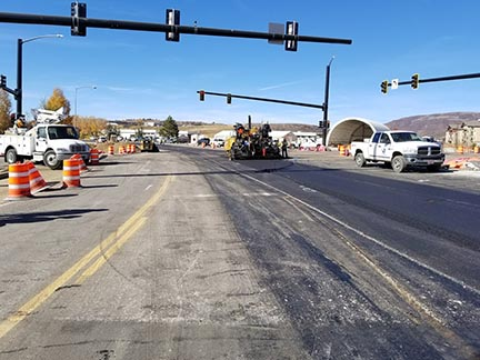 US 40 Steamboat Paving