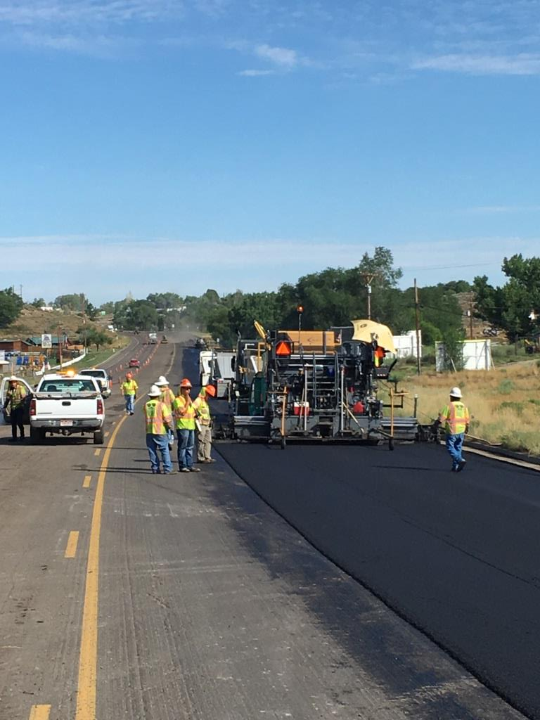 Asphalt Paving Underway in five-lane section south of County Road M on US 491 (3).JPG