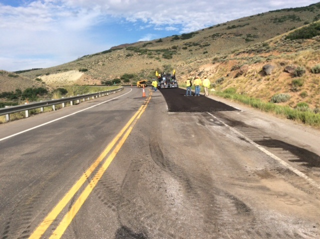 US 50 Blue Mesa: Cold-in-place asphalt recycling--July 20, 2017--2
