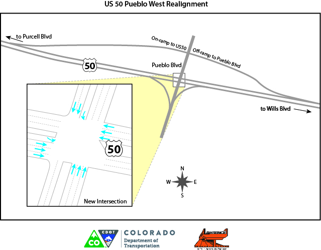 US 50 Pueblo West Realignment