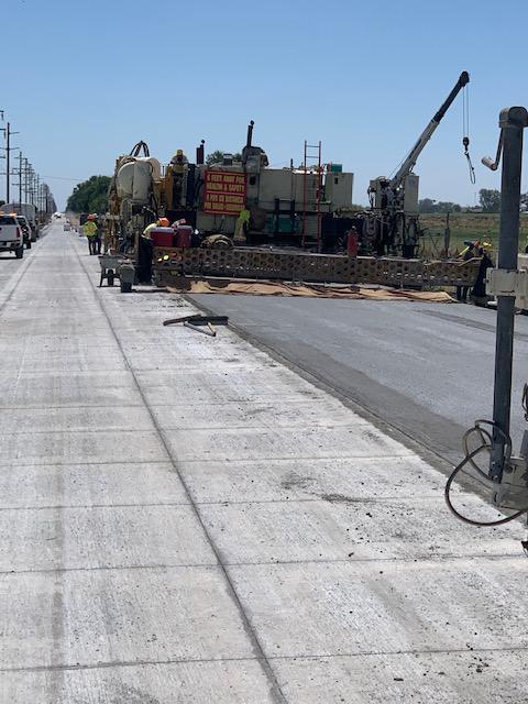 US 50 B Manzanola - Eastbound paving