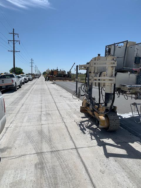 US 50 B Manzanola - Eastbound paving