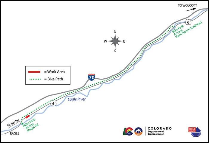 Longer bike path map