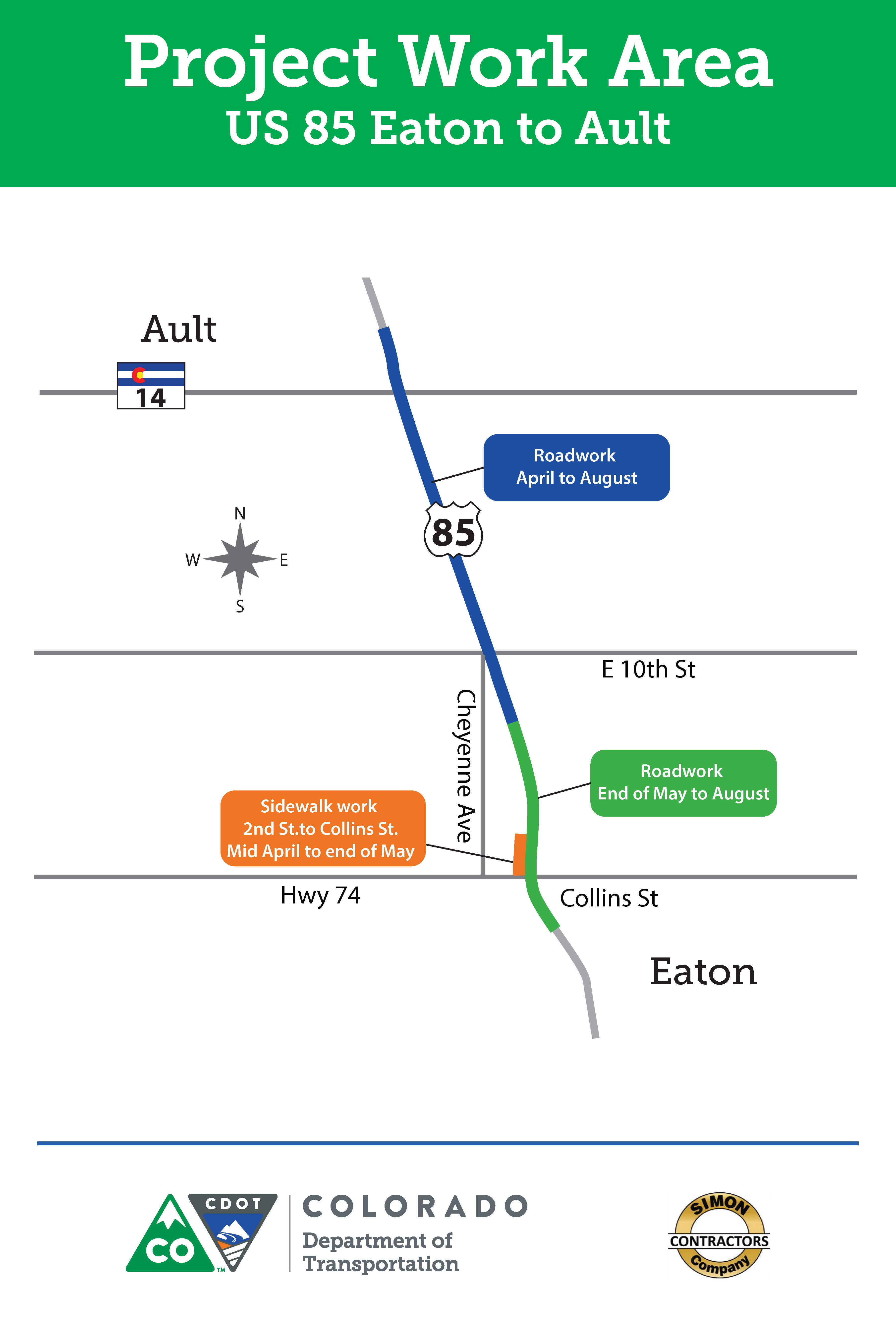 US 85 Eaton to Ault Resurfacing —