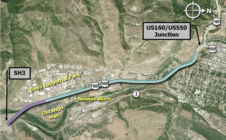 US160_Map detail image