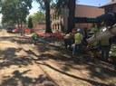 Concrete work Sept 2015