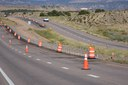 completed section of installed cable rail between posts on US 50.jpg thumbnail image