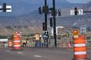 crews installing new cable rail on US 50.jpg thumbnail image