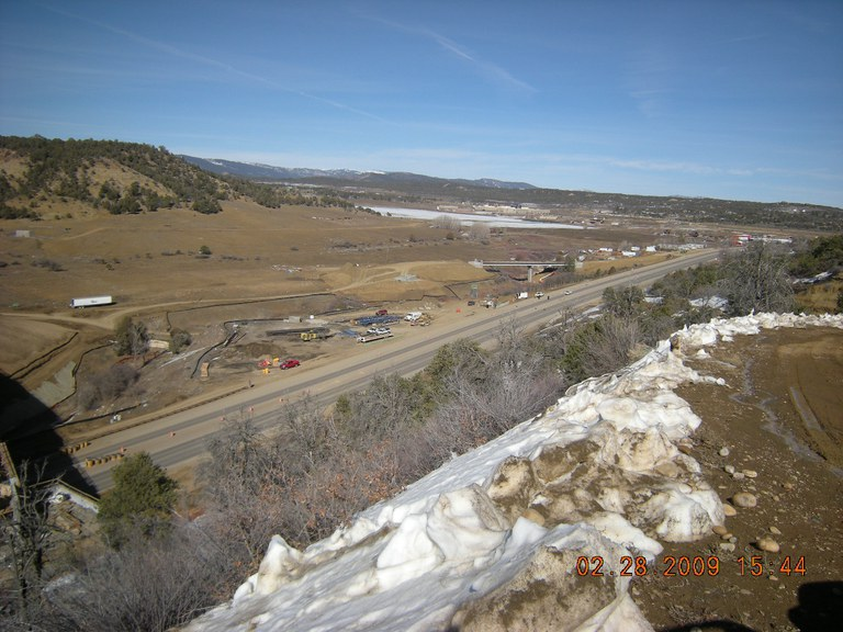 US 160 east of Durango