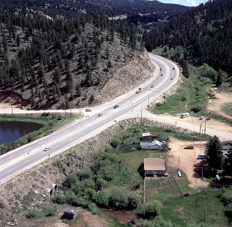 US 285 at Shaffers Crossing