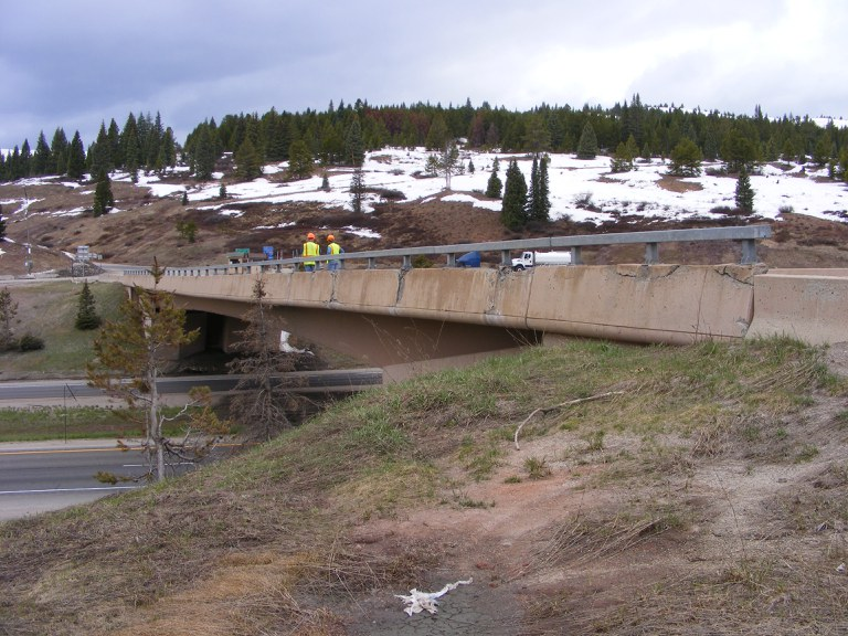 I-70 between Vail Pass and Silverthorne