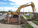 Construction just underway on Woodmen Road. During Construction. thumbnail image