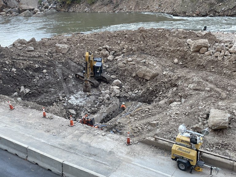 Project Update Sept. 20-24 roadside conditions