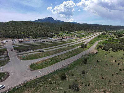 Exit 11 Construction will improve access to Fishers Peak