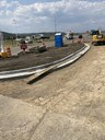 Improved access underway at the Shell Gas Station Exit 11.jpg thumbnail image