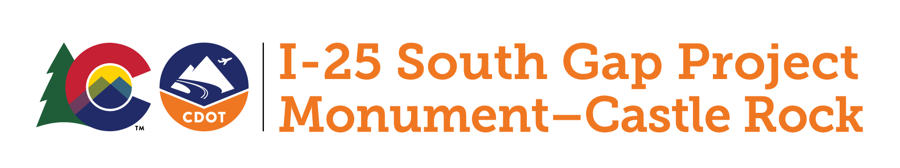 I-25 South Gap Logo
