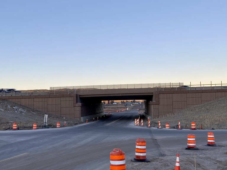 Greenland Road Interchange Work