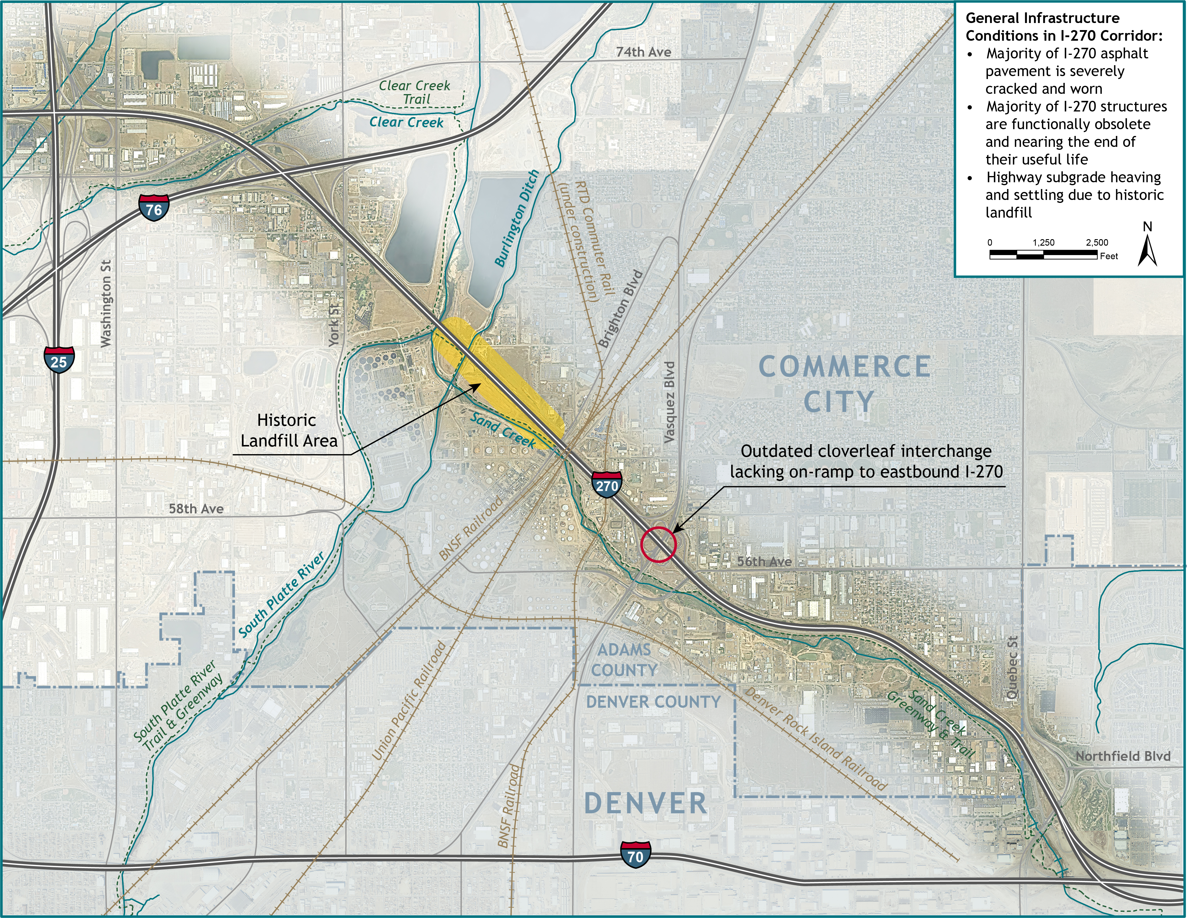Existing Infrastructure Issues in the I-270 Corridor