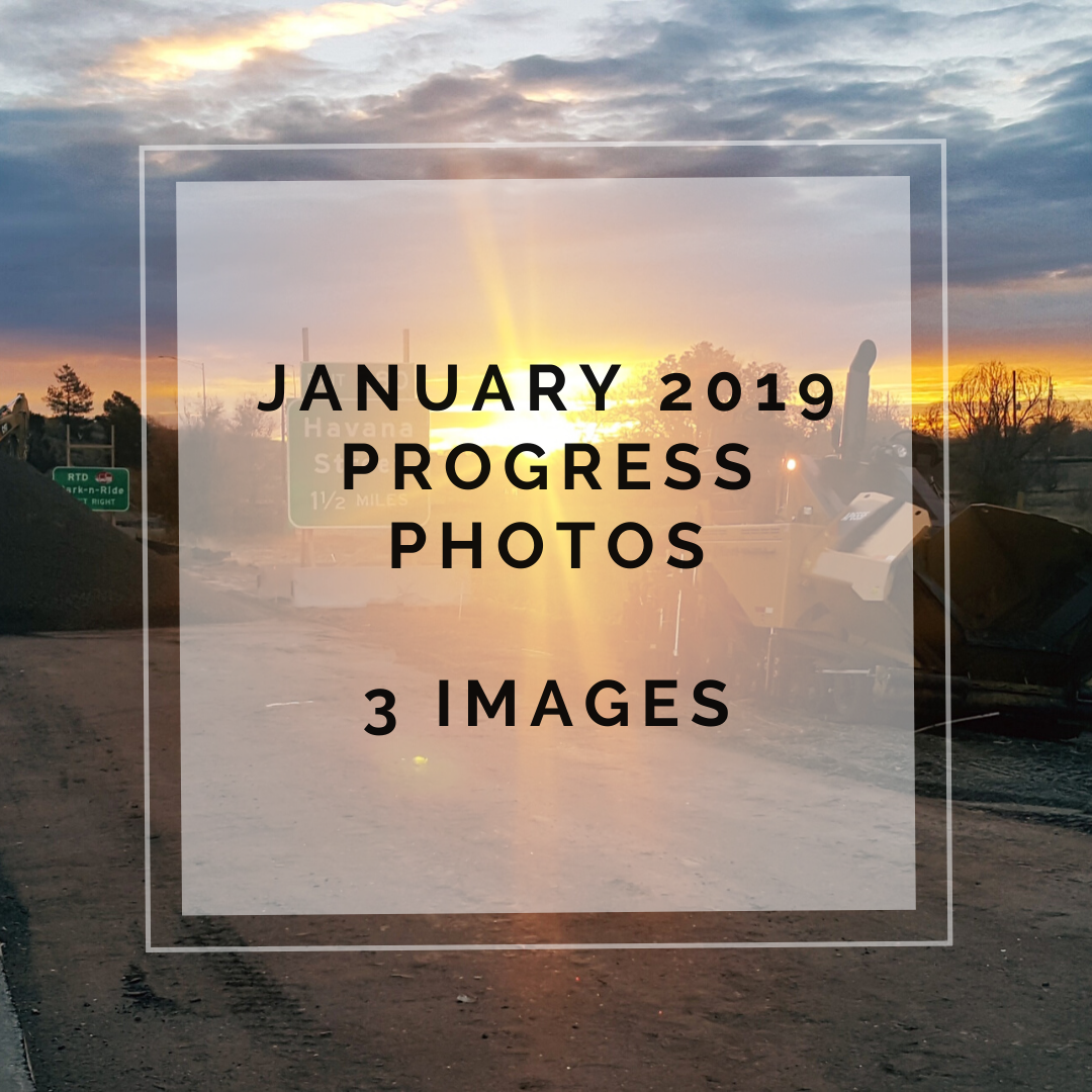 January 2019 Central 70 Project Photo Slideshow