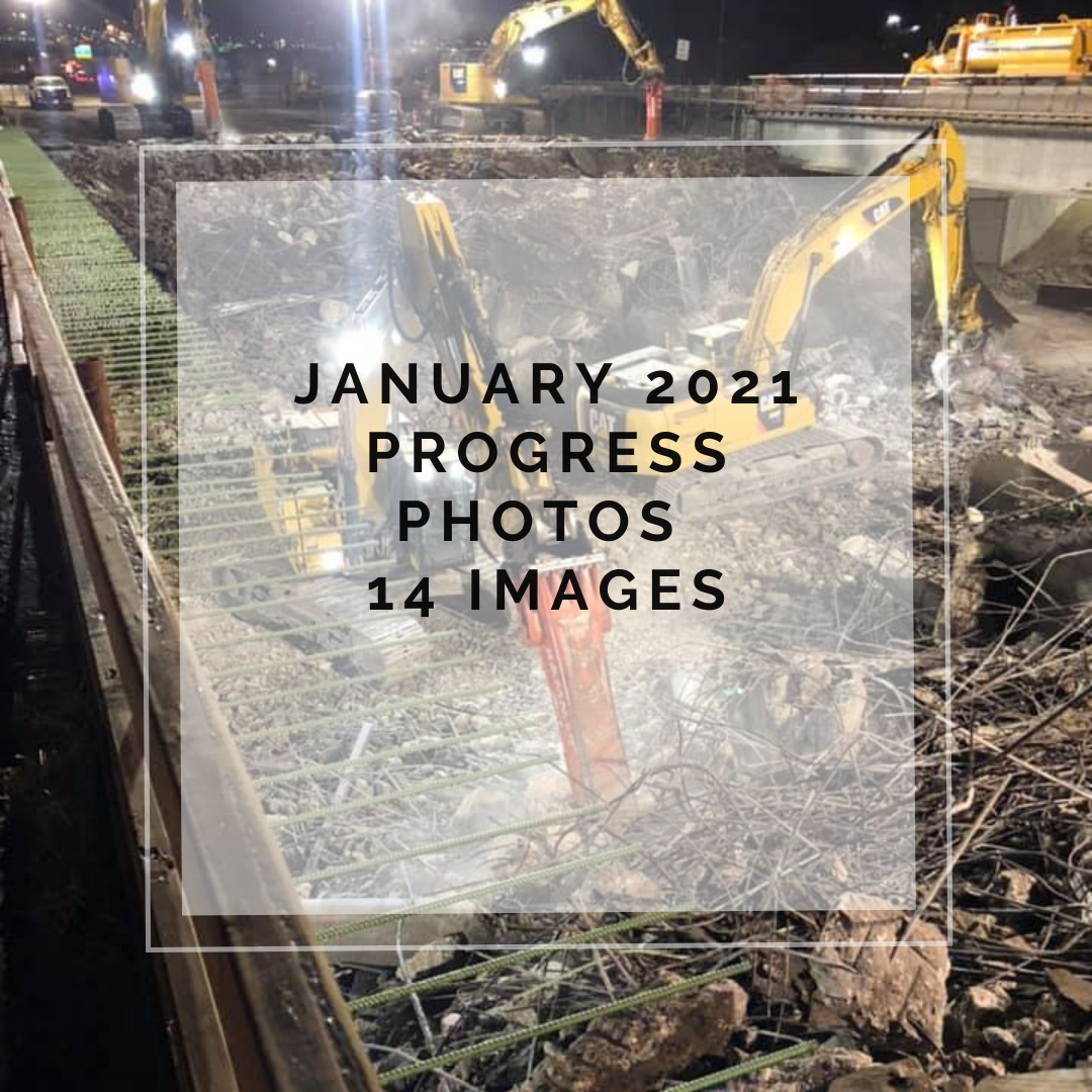 January 2021 Central 70 Project Photo Slideshow