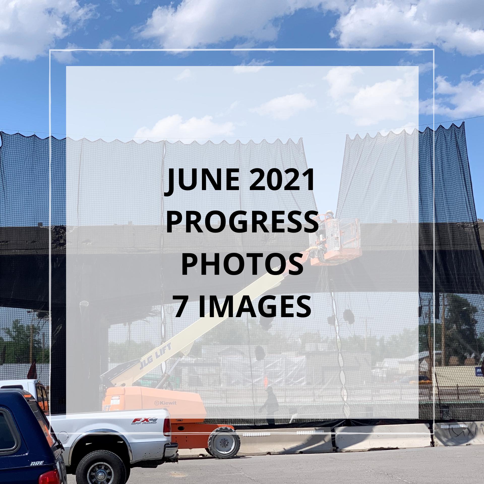 June 2021 Central 70 Project Photo Slideshow