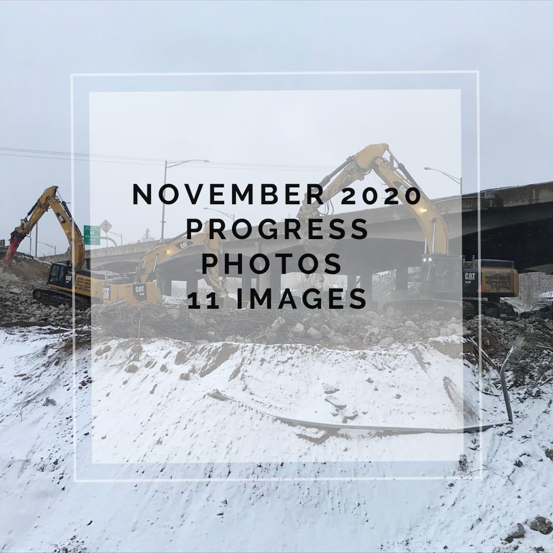 November 2020 Central 70 Project Photo Slideshow