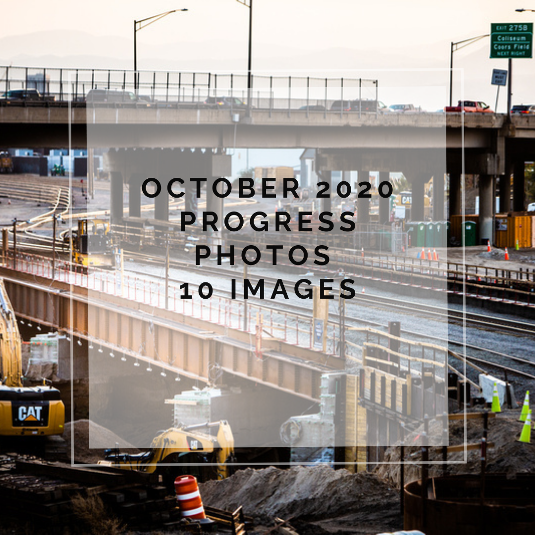 October 2020 Central 70 Project Photo Slideshow