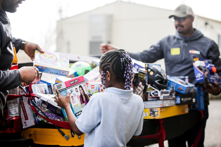 Ford Elementary School Toy Drive