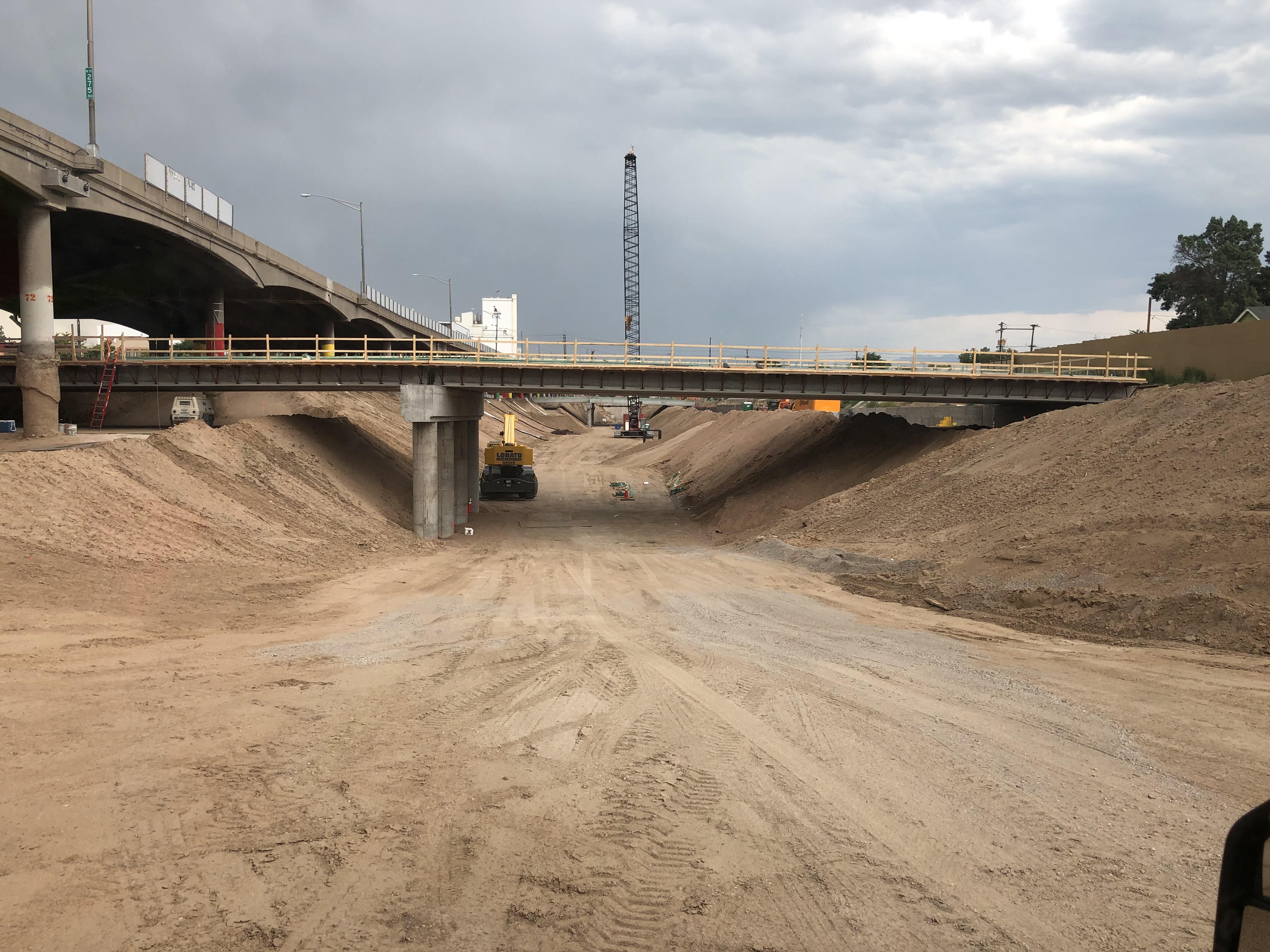 Future Clayton Street bridge detail image