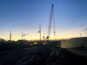 Eastbound I-70 over Denver Rock Island Railroad (DRIR) bridge bridge beams