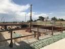 View from Columbine Street bridge