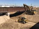 Excavation and track work near the BNSF bridge .jpg