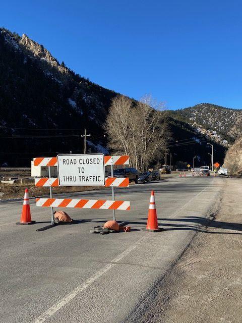 On ramp closure at 239