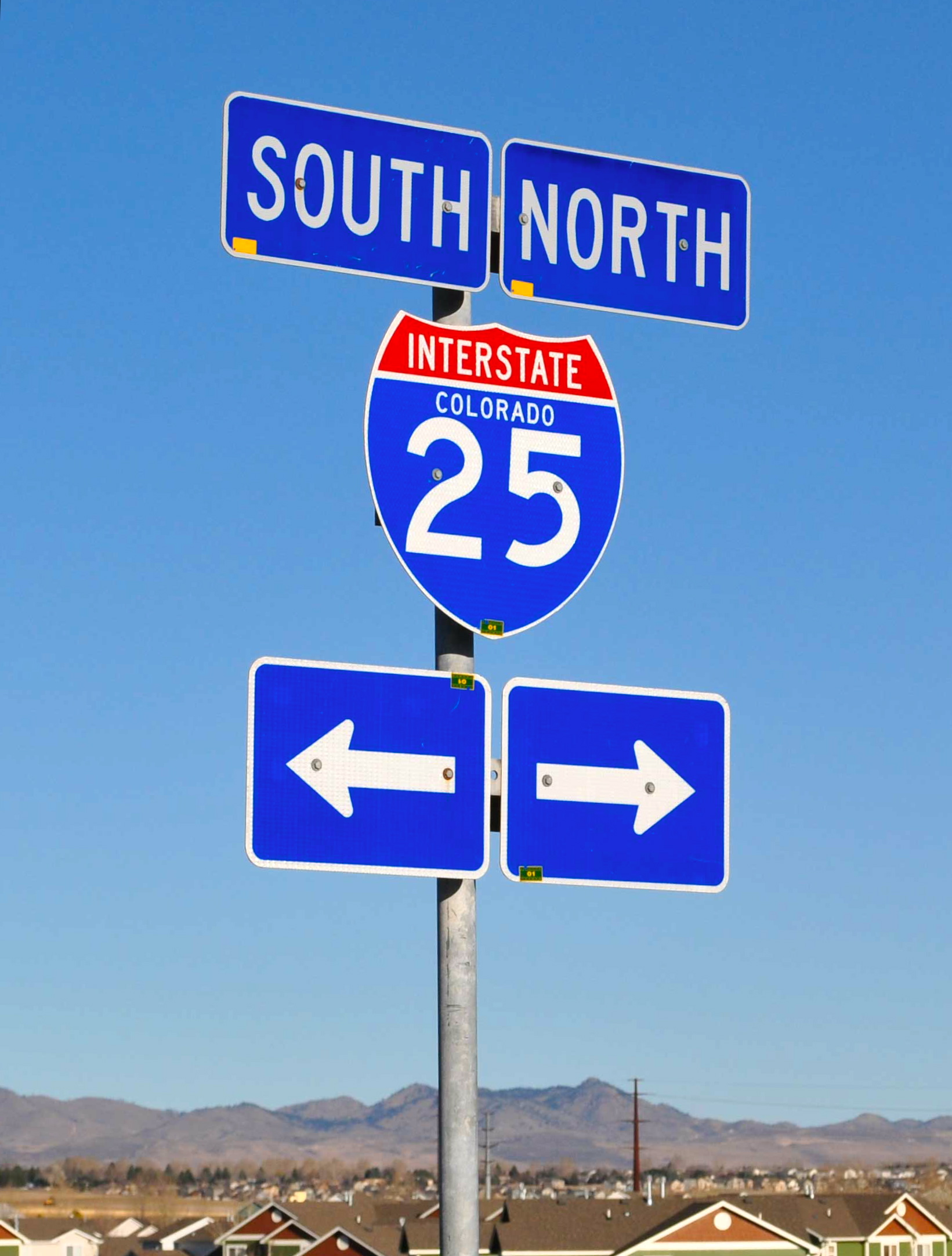 I-25 North and South