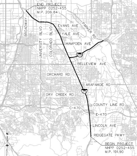 I-25 Smart Electrical Intelligent Transportation System: Broadway to