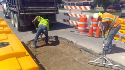 US 50 & Purcell Median Removal
