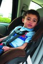 Child in a carseat thumbnail image