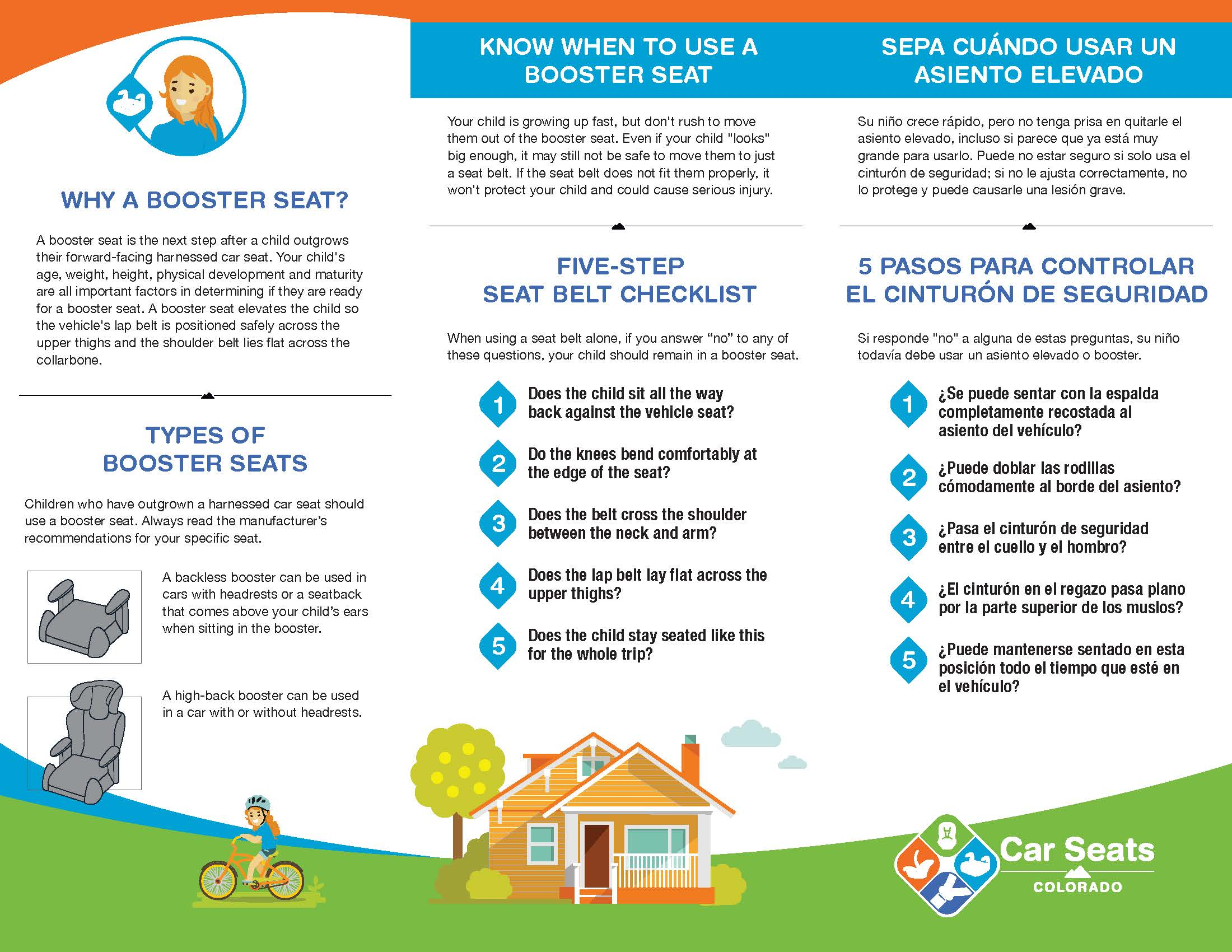 Booster Seat Brochure