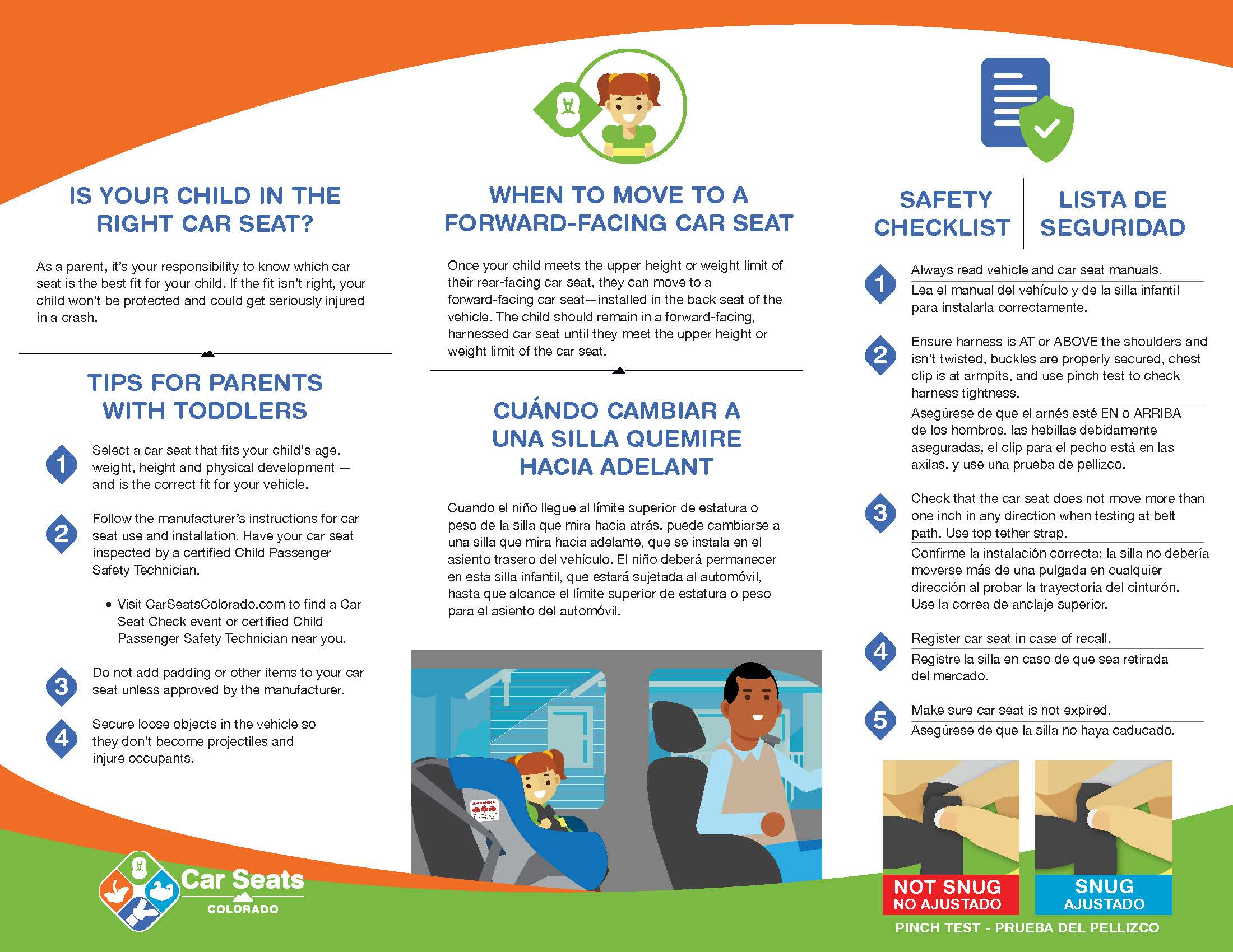 Child Safety Brochure (front-facing)