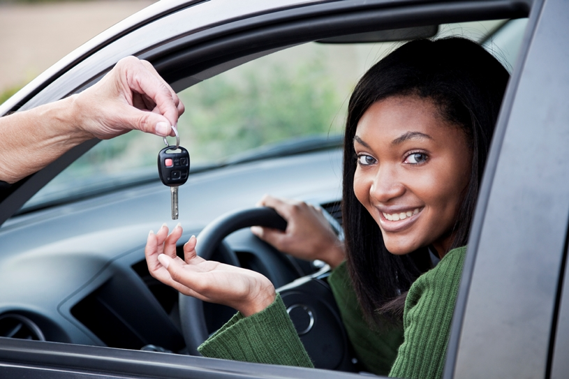 iStock Teen Girl Getting Keys