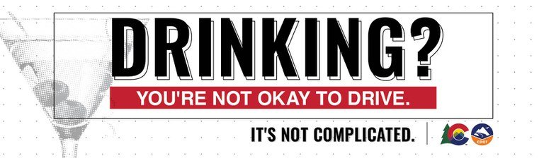 Drinking? You're not ok to drive. It's not complicated.