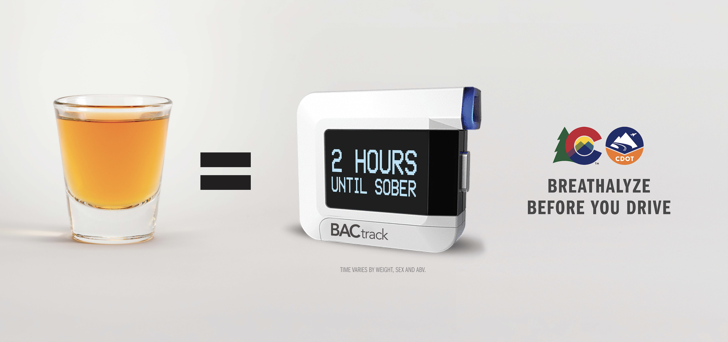 Breathalyze before you drive, one beer = 2 hours until sober