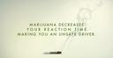 decreased reaction